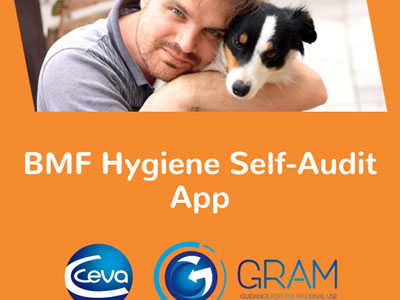Veterinary hygiene audit app